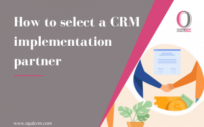 How to select a CRM implementation partner