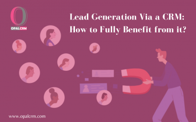 Lead Generation Via a CRM: How to Fully Benefit from it?