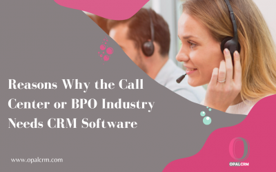 Reasons Why the Call Center or BPO Industry Needs CRM Software
