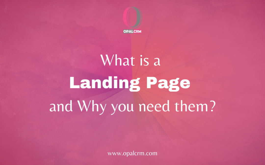 What is a Landing Page and Why you need them?